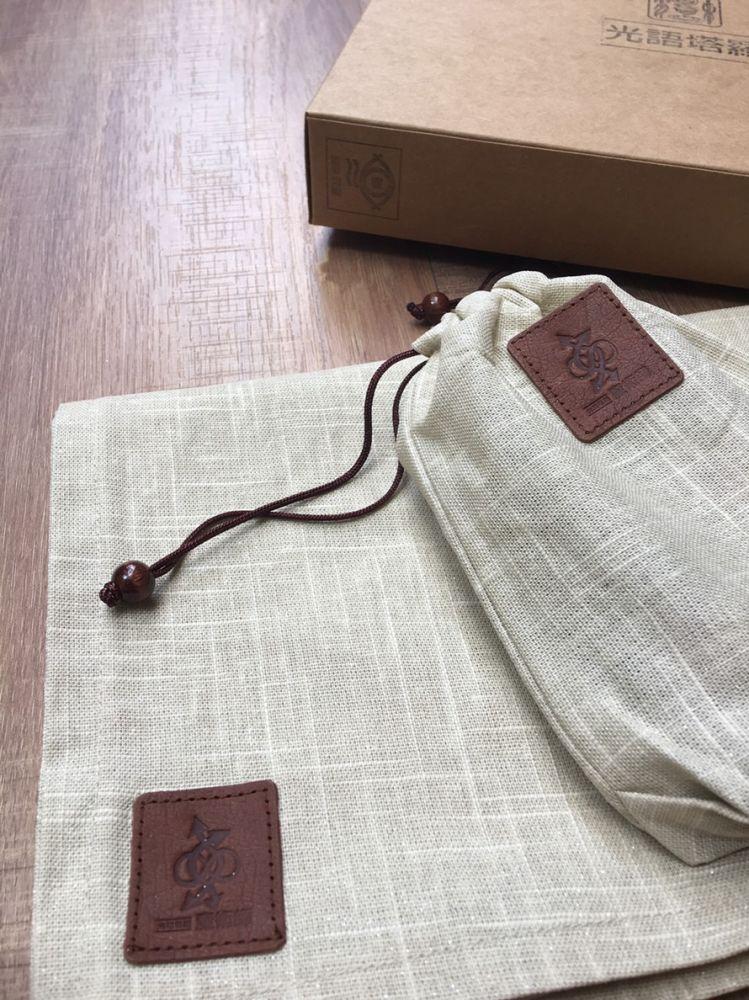 塔羅符號牌袋與桌布 黃金色